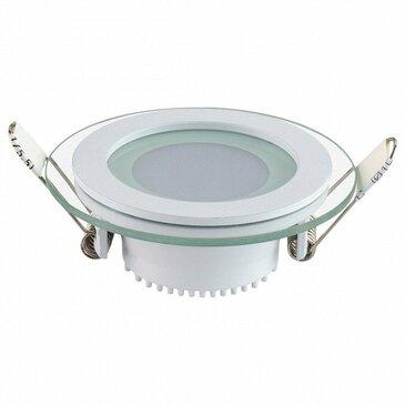 Встраиваемый светодиодный светильник Horoz 6W 6400K белый 016-016-0006 (HL687LG) (HRZ00000348).